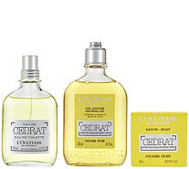 L'Occitane Cedrat Men's Deluxe Set - A288136