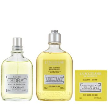 L'Occitane Cedrat Men's Deluxe Set