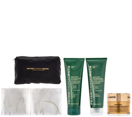 Peter Thomas Roth 24K Gold Hair Mask w/ Shampoo & Conditioner