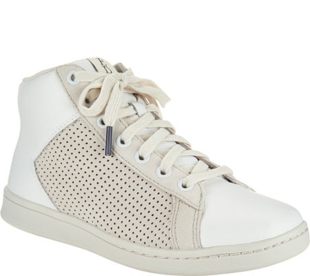 ED Ellen DeGeneres Leather High Top Sneakers - Camarilo 2