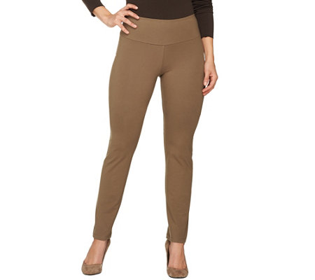 """As Is"" Women with Control Petite Tummy Control Seamless Pants"