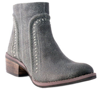 Nomad Leather Ankle Boots - Jameson - A356436