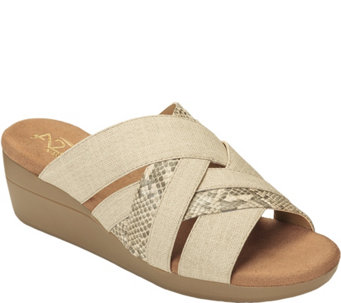 A2 by Aerosoles Wedge Sandals - Flower Power - A357036
