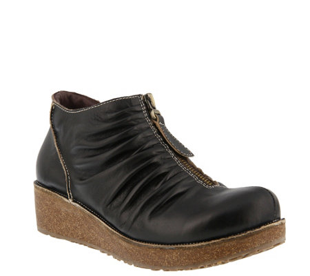 L'Artiste by Spring Step Leather Booties - Lifetime