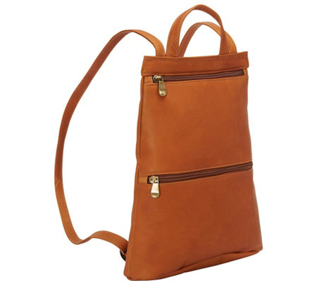 Le Donne Leather Slimpack Backpack - Tanya