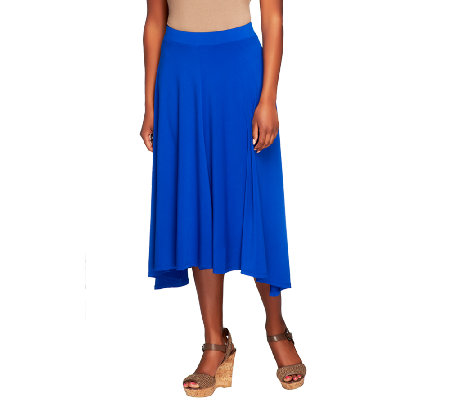 Nicole Richie Collection Draped Mid-length Skirt