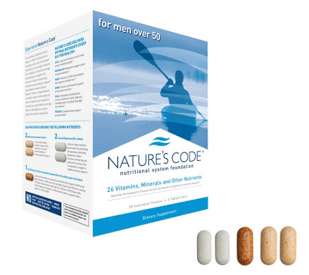 Nature's Code 90 Day Vitamin Foundation System with CoQ10
