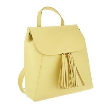 Isaac Mizrahi Live! Bridgehampton Leather Backpack