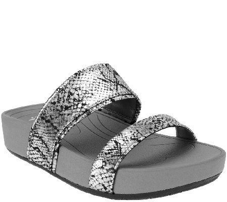 BareTraps Double-strap Slide Sandals - Gemini