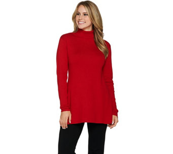 Linea by Louis Dell'Olio Whisper Knit Swing Turtleneck - A268137