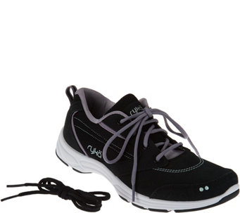 Ryka Water & Oil Resistant Canvas Sneakers - Teanna - A275137