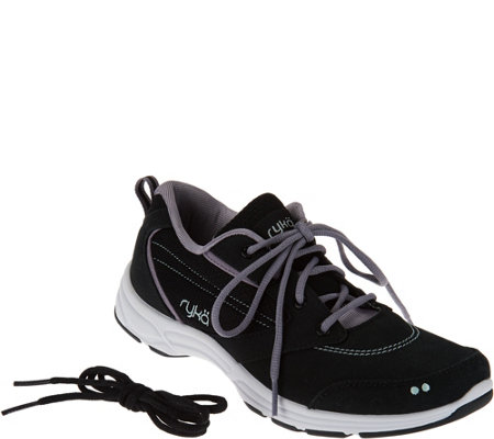 Ryka Water & Oil Resistant Canvas Sneakers - Teanna