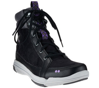 """As Is"" Ryka Water Resistant Sneaker Boots with CSS - Aurora - A275937"