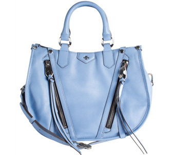 orYANY Pebbled Leather Satchel - Cassandra - A277137