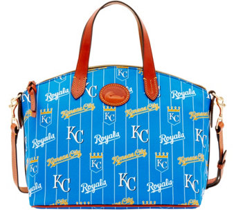Dooney & Bourke MLB Nylon Royals Small Satchel - A281737