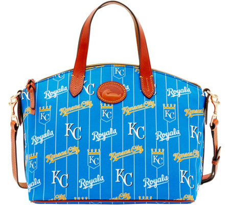 Dooney & Bourke MLB Nylon Royals Small Satchel