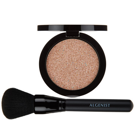 Algenist REVEAL Pressed Bronzing Powder with Brush