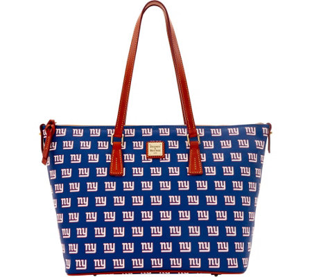 Dooney & Bourke NFL Giants Shopper