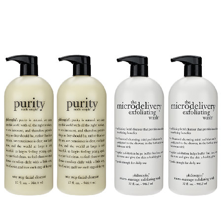 philosophy super-size purity & polish double duo