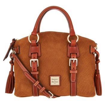 Dooney & Bourke Nubuck Bristol Satchel Handbag