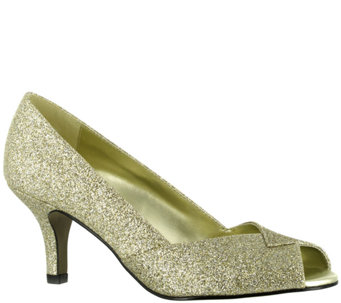 Easy Street Ravish Peep-Toe Evening Pumps - A333737