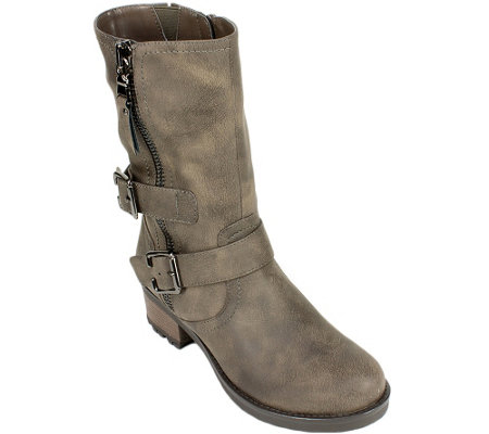 White Mountain Mid-Calf Boots - Birch