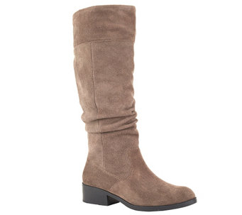 Cougar Waterproof Tall Suede Pull-On Boots - Carla - A338937