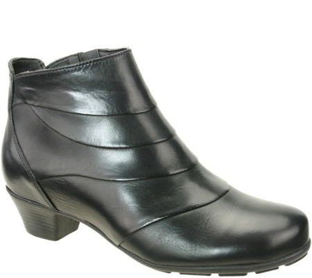 Napa Flex by David Tate Leather Booties - Bronx