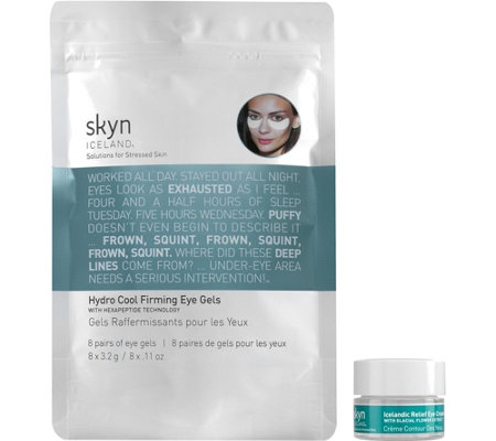 skyn ICELAND Firming Eye Gels & Eye Cream Duo