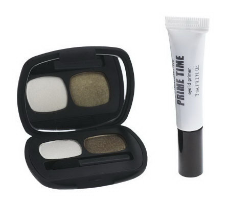 bareMinerals READY Eyeshadow Duo & Prime Time Eyelid Primer