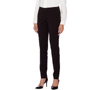 Attitudes by Renee Stretch Supreme Straight Leg Pants - A267438