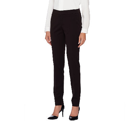 Attitudes by Renee Stretch Supreme Straight Leg Pants