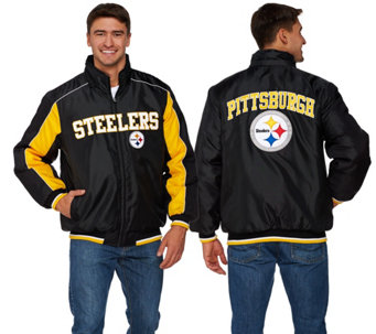 NFL Polyfill Jacket with Detachable Hood - A268238