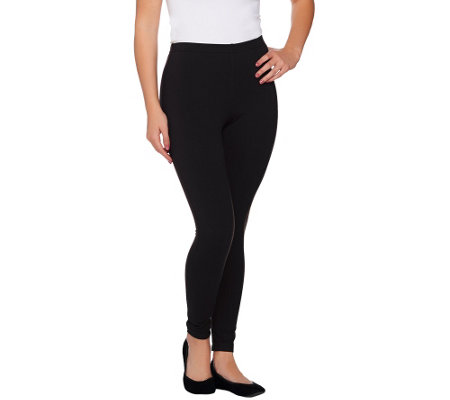 Women with Control Tall Pull-On Tushy Lifter Knit Leggings