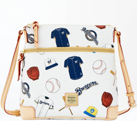 Dooney & Bourke MLB Brewers Crossbody