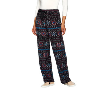 Cuddl Duds Fleecewear Stretch Lounge Pants - A280238