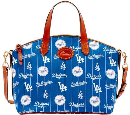 Dooney & Bourke MLB Nylon Dodgers Small Satchel