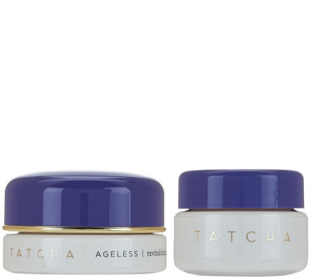 TATCHA Ageless Eye Cream and Travel Renewal Cream