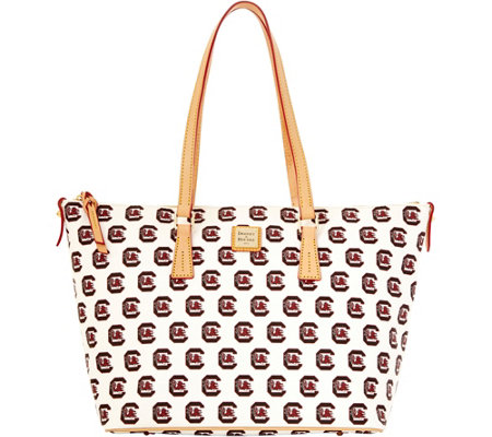 Dooney & Bourke NCAA University of South Carolina Zip Top Shopper