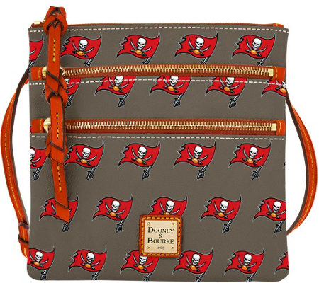 Dooney & Bourke NFL Buccaneers Triple Zip Crossbody