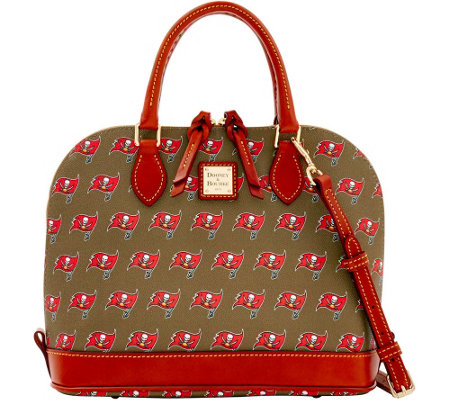 Dooney & Bourke NFL Buccaneers Zip Zip satchel