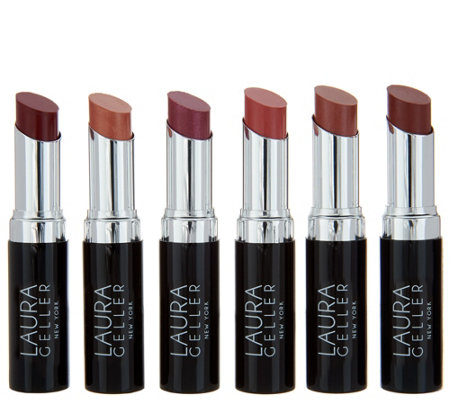 Laura Geller Silver Screen 6-piece Lipstick Collection