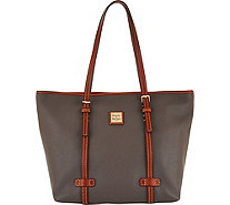 Dooney & Bourke Pebble Leather Shopper Handbag - A292938