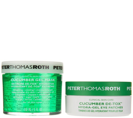 Peter Thomas Roth Cucumber Mask & Eye Patches Auto-Delivery