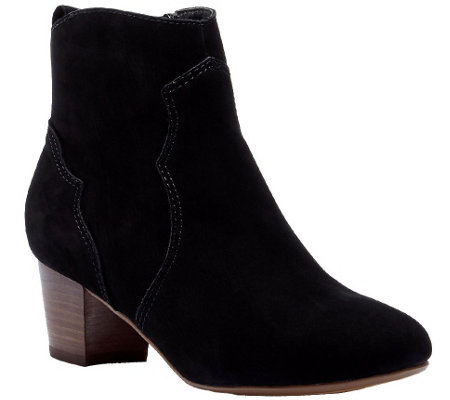 Sole Society Western Ankle Boots - Fleetwood