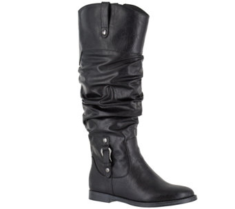 Easy Street Wide Calf Tall Boots - Vim Plus - A355838