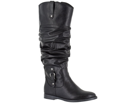 Easy Street Wide Calf Tall Boots - Vim Plus