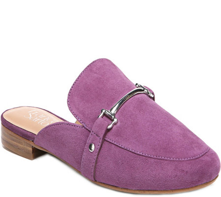 Franco Sarto Leather Mules - Dalton 2