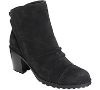 Aerosoles Heel Rest Suede Ankle Boots - Province - A362038