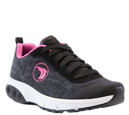 Therafit Fashion Fabric/Suede Athletic Shoes -Paloma